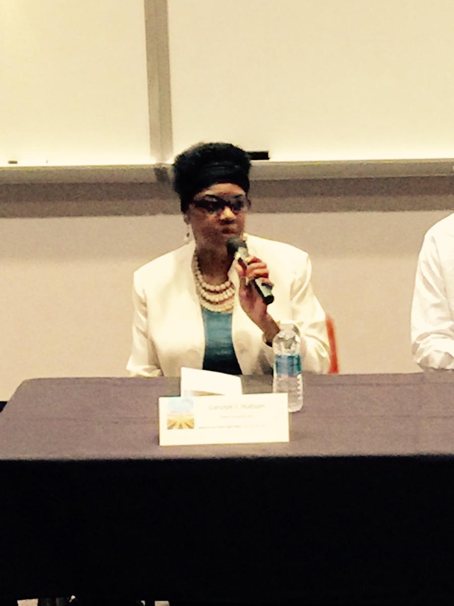 Panelist Carolyn J Hudson