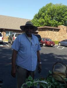 Ron, hard working volunteer