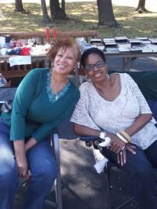 Tedi and Carolyn, BFFs
