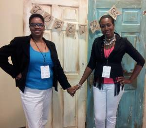 Carolyn & Gwen Panelist At Conference