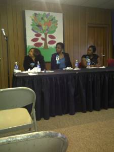 Carolyn J Hudson Speaking At Ferguson Rd Initiative 2011