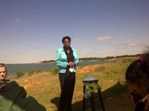 Carolyn J Hudson Speaking At SAVE Event At Flower Mound 2011
