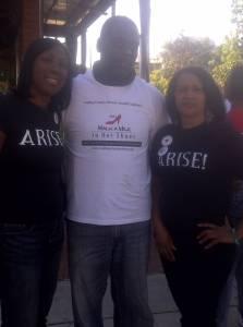 Gwen Jones, DA Craig Watkins, Annette At Walk A Mile In Her Shoes 2011