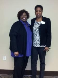 Lenora Ferguson, Carolyn J Hudson At Training 2014