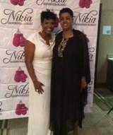 Nikia Hammond & Award Winner Carolyn J Hudson